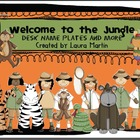 Welcome to the Jungle-Desk Name Plates and More