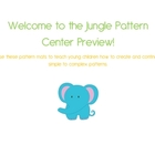 Welcome to the Jungle Pattern Teaching and Challenge Cente
