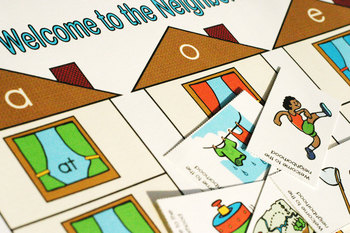 Welcome to the Neighborhood Word Game and Skill Sheet (Wor