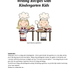 We're Cooking in Kindergarten