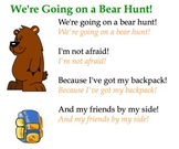 We're Going On A Bear Hunt! Song and Sorting Activity (For