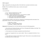 West Side Story Unit: Lessons, Homework, Tests, Activities