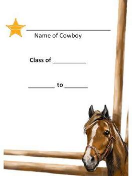 Western Classroom Theme Packet - Back to School