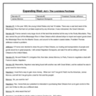 Western Expansion -Reader&#039;s Theater Acts I - IV
