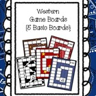 Western Game Boards