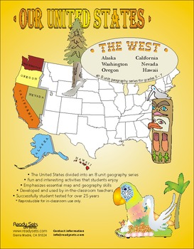 Western States-'Our United States Series' 32-Page Thematic
