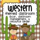Western Theme Classroom {Decor, Classroom Management, & Re