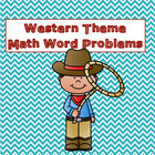 Western Theme Math Word Problems