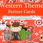 Western Theme Partner Cards