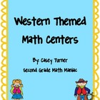 Western Themed Common Core Math Centers