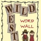 Western Themed Word Wall