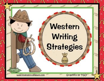 Western Writing Strategies (Aussie Version Included)