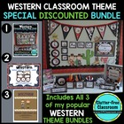 Western/Cowboy Themed Classroom Kit ~ Ideas and Printables