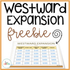Westward Expansion Jeopardy Review Game