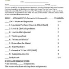 Westward Expansion - Student Notes Packet & ANSWER KEY