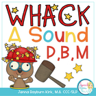 Whack A Sound P,B,M : Self Checking Articulation Game