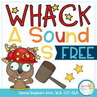 Whack A Sound /S/ { FREEBIE}: Self Checking Articulation Game