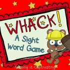 Whack! Dolch Sight Word Game