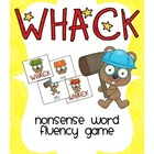 Whack! Nonsense Word Fluency Game
