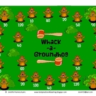 Whack-a-Groundhog Math Game