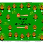 Whack-a-Groundhog Math Interactive Smart Board Game