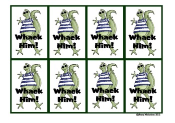 Whack-a-Lizard: Rhyming Words