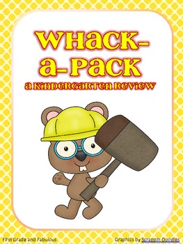 Whack-a-Pack (A Kindergarten Review)