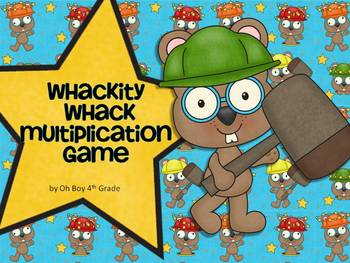 Whackity Whack Multiplication game