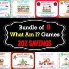 What Am I? BUNDLE {Describing Games}