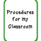 What Are My Classroom Expectations?
