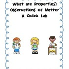 What Are Properties?  Observations of Matter (Quick Lab)