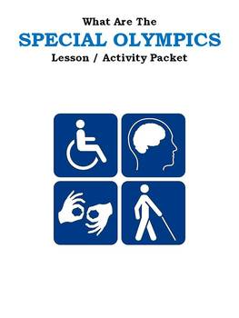 What Are The SPECIAL OLYMPICS Lesson / Activity Packet