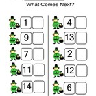 What Comes Next/ Before 1-20 St Patricks Day