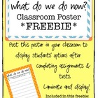 """What Do We Do Now?"" Poster Freebie"