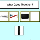 What Goes Together? File Folder Activity - Autism- Special