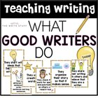 Good Writers Poster Set {Freebie}