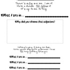 What I Am: Activity, Art Project, Printable