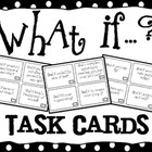 What If ? Task Cards for Creative Thinking, Cause and Effe