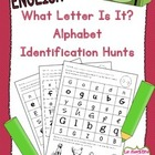 What Letter Is It? Letter Identification Practice (English)