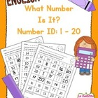 What Number Is It? Number Identification 1-20 (English)