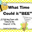 What Time Could it 'BEE'? (A Time Matching Game)