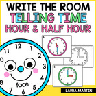 What Time is It? Read and Write the Room