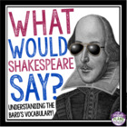 What Would Shakespeare Say?  A Fun Introduction to Shakesp