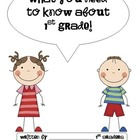 What You Need to Know About {Kindergarten, 1st Grade, or S