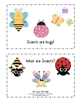 What are Insects? Book