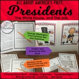 Presidents and the White House Non-Fiction Unit w/Craftivity
