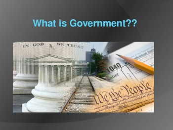 What is Government? Essential Features of a Government/Rol