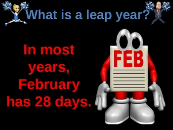 What is Leap Year all about? Power Point Lesson
