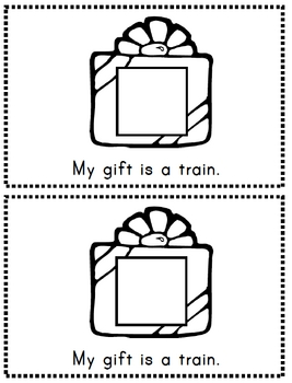 What is My Gift? emergent reader