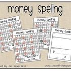 What is My Word Worth?--Money Spelling